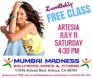 Mumbai Madness ZumBolly Artesia