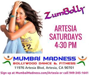 Mumbai Madnes ZumBolly Artesia