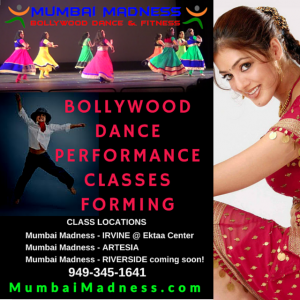 Bollywood Dance Performance classes forming
