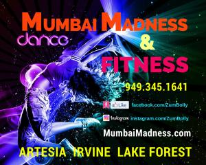 Mumbai Madness ZumBolly Dance Fitness | Artesia | Irvine | Lake Forest