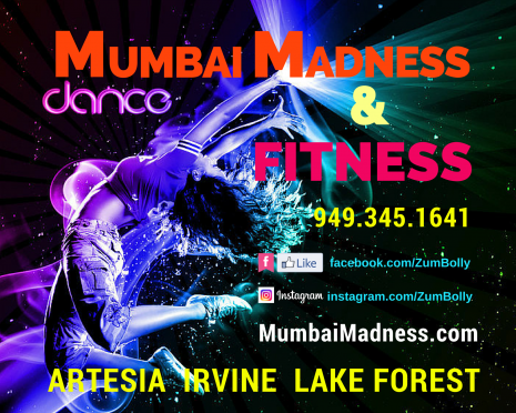 Mumbai Madness ZumBolly Dance Fitness | Artesia | Irvine | Lake Forest
