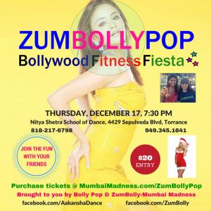 ZumBollyPop Bollywood Fitness Fiesta