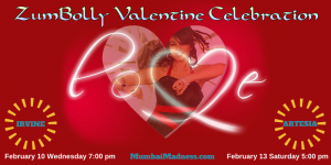 ZumBolly Mumbai Madness Valentine Celebration