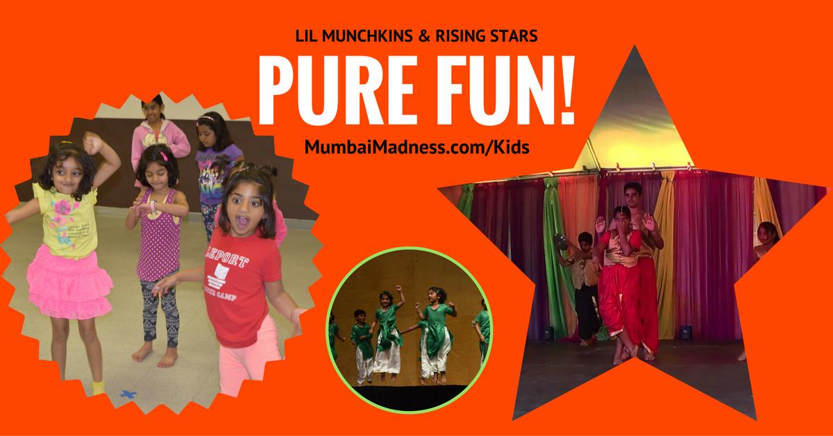Mumbai Madness Lil Munchkins Rising Stars | Bollywood Dance Class | Irvine
