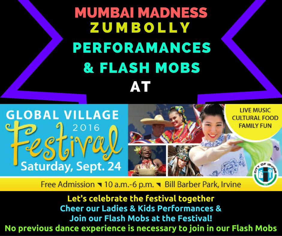 Madness / ZumBolly Irvine Global Village Festival