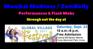 Mumbai Madness ZumBolly Irvine Global Village Festival 2017