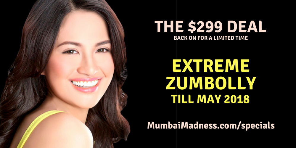 Extreme ZumBolly Mumbai Madness Bollywood Dance Fitness Till May 2018