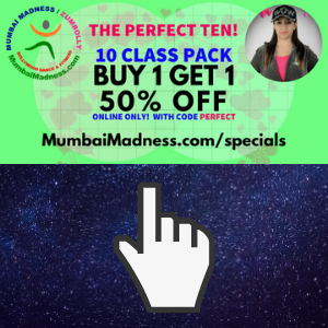 Bollywood Dance Fitness Mumbai Madness ZumBolly Perfect 10 Bogo