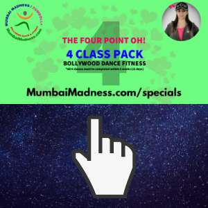 Mumbai Madness ZumBolly Four Point Oh Bollywood Dance Fitness