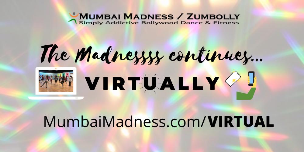 Mumbai Madness ZumBolly Bollywood Dance Fitness Virtual Online Class